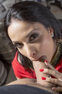 Gorgeous Pornstar Anissa Kate Gets Fucked In Stockings