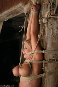 Busty Blonde Punished