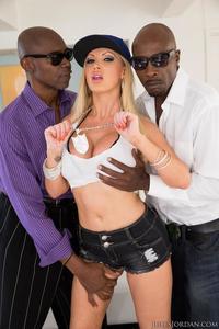 Nikki Benz Interracial Threesome
