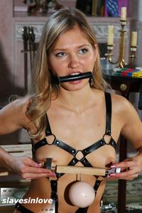 Blonde Amateur Slave