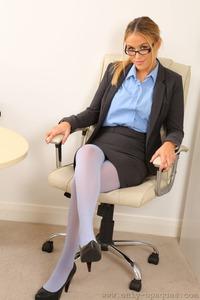 Rosie W Sexy Secretary