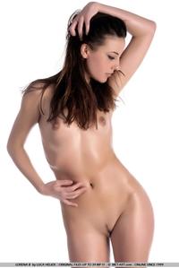 Beautiful brunette Lorena