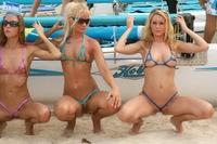 Bikini girls in sexy thong 06