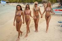 Bikini girls in sexy thong 07