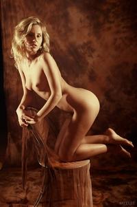 Gorgeous Nancy Murrian posing naked