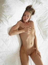 Young cutie Marika teasing naked