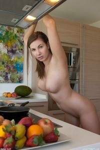 Hot Josephine's big natural boobs