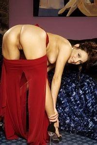 Tempting Celeste Star teasing nude