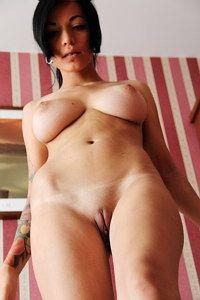 Amateur busty exgirl Iona nude