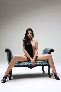 Beautiful Valeria posing naked