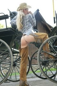 Kristyna Hot Assed Farmer Girl