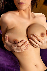 Karmella Anthony Sexy Big Bust Babe