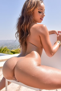 Hot Latina Ass By The Pool