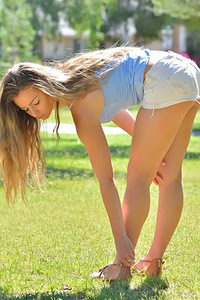 Cara Little Teen Teaser In Public