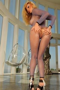 Sandy in luxurious apartment