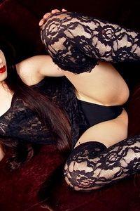 Hot fetish babe in stockings